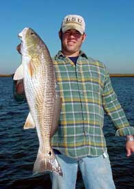 Captain Bill Lake of Bayou Guide Services and Charters, Southern Louisiana fishing in Houma ...